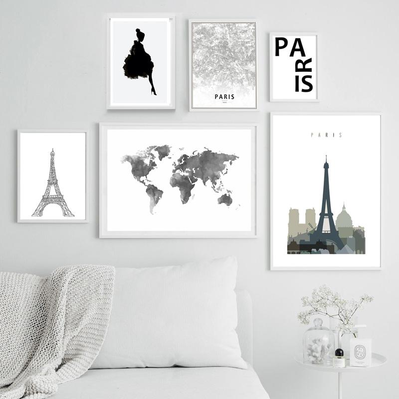 قاب عکس پاریس -مجموعه تابلوهای پاریس