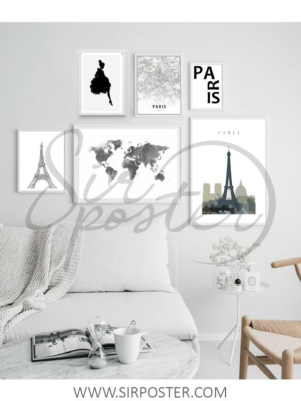 قاب عکس پاریس