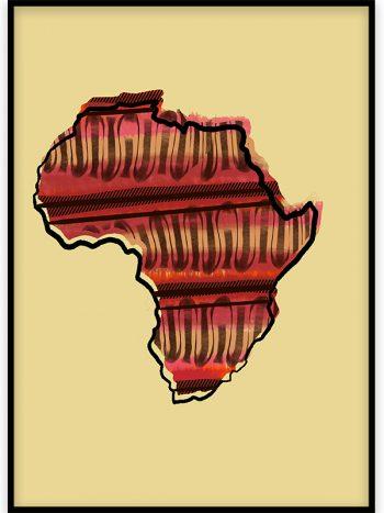 تابلو دکوراتیو آفریقا