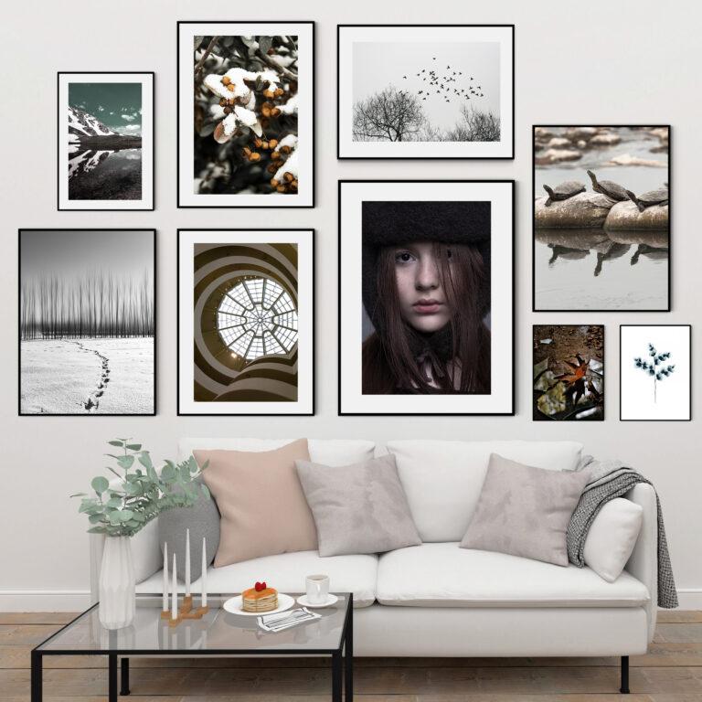 مجموعه تابلوهای نگاه سرد