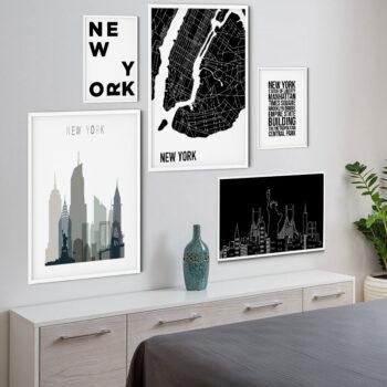 مجموعه تابلو نیویورک