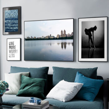 مجموعه تابلوهای شهر آرام