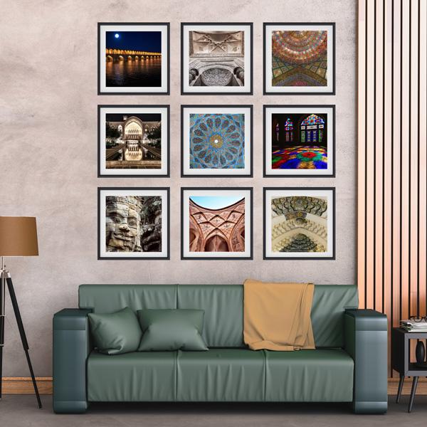 مجموعه تابلوهای هنرماندگار