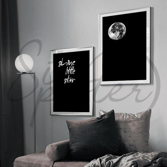 مجموعه تابلو آسمان شب