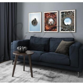 مجموعه تابلو چرخش زمین