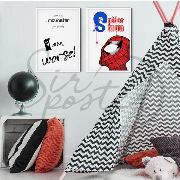 مجموعه تابلو مرد عنکبوتی
