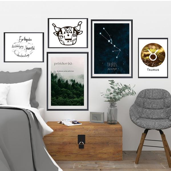 مجموعه تابلوهای متولد اردیبهشت – Taurus zodiac gallery collection