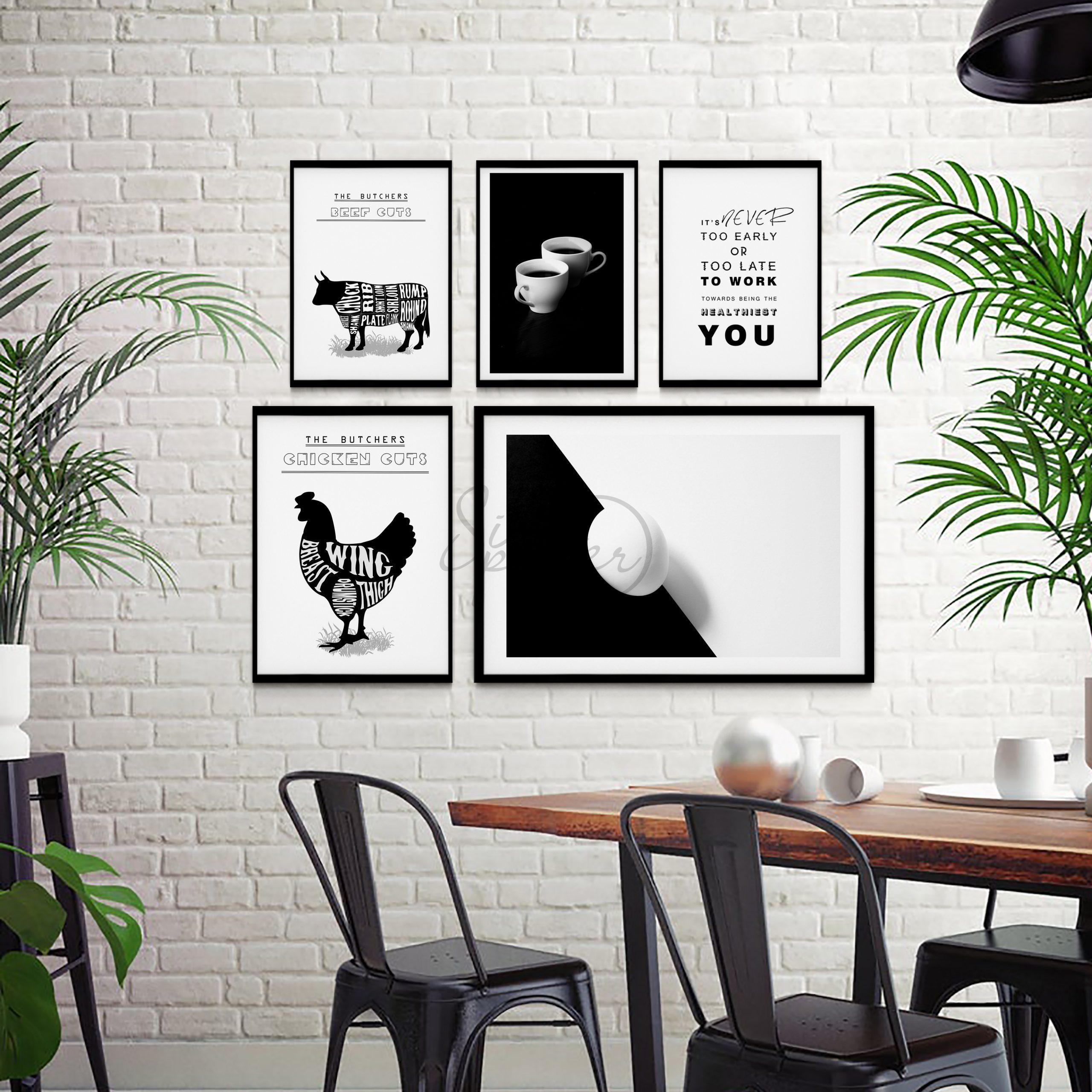 مجموعه تابلوهای آشپزخانه مدرن –