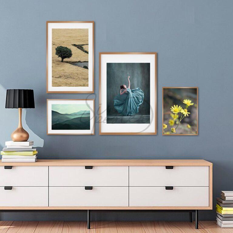مجموعه تابلوهای زندگی مدرن