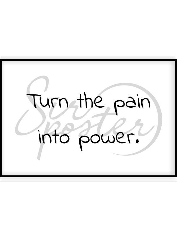 درد را به قدرت تبدیل کن