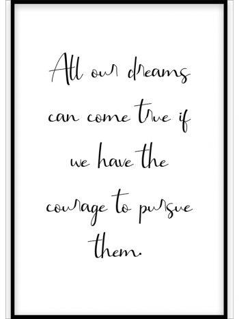 همه رویا ها میتواندبه واقعیت بپیوندند