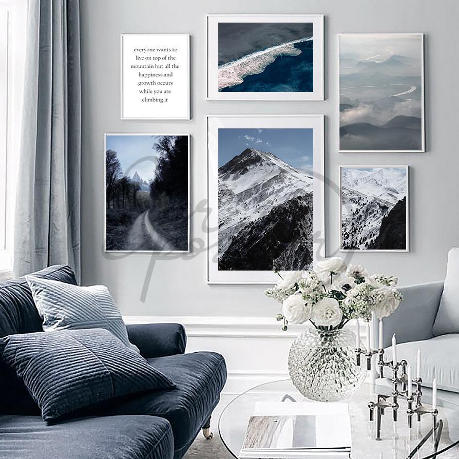 مجموعه تابلو های کوهستان