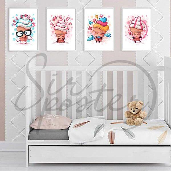 مجموعه تابلو بستنی