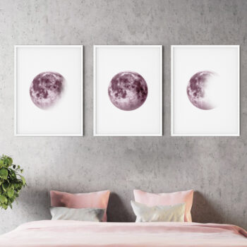 مجموعه تابلو ماه