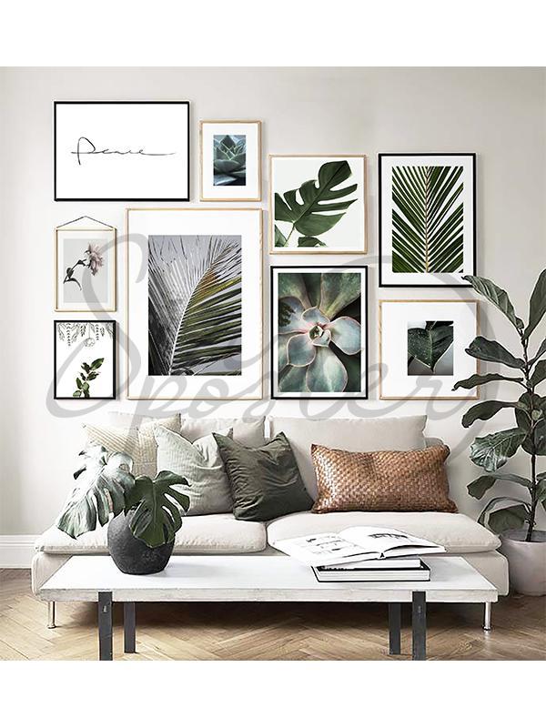 مجموعه تابلوهای برگ سوزنی